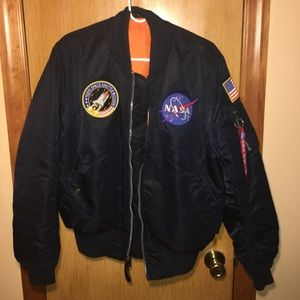 Alpha Industries MA-1 NASA Flight Bomber Jacket